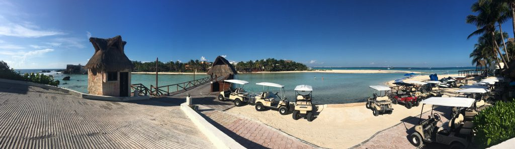 When you visit Isla Mujeres, you'll learn that golf carts are the best form of transportation!