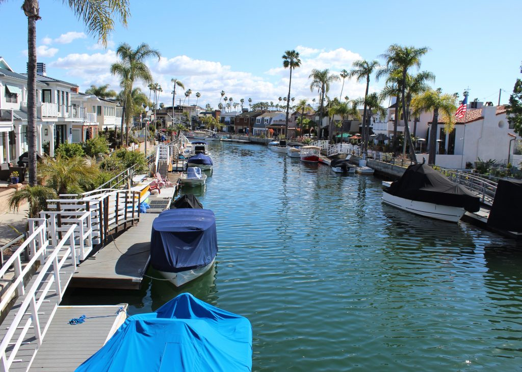 Long Beach canals