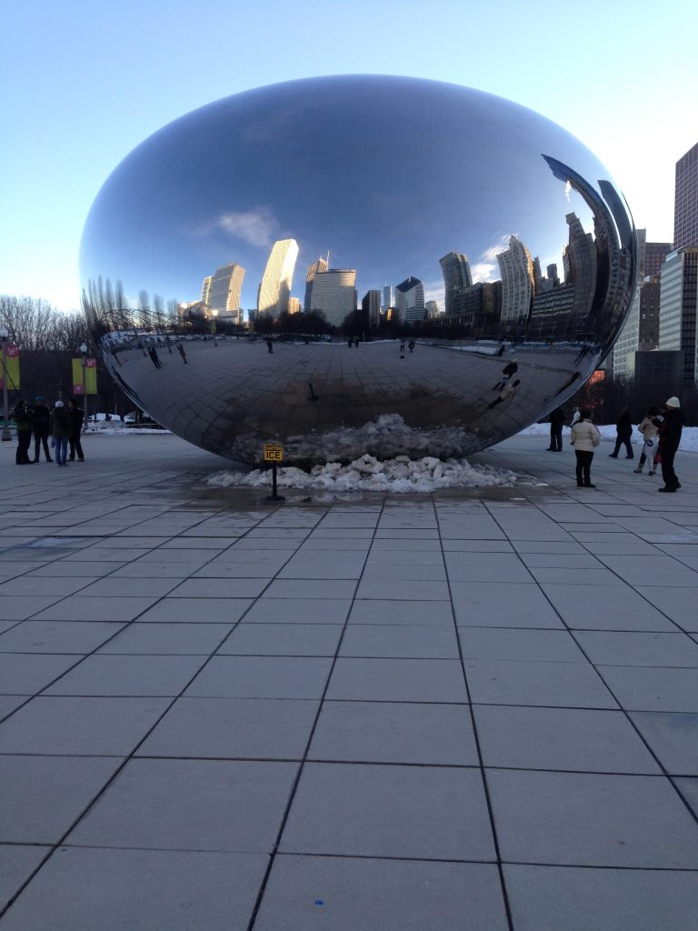 The Bean at Millennium Park in Chicago