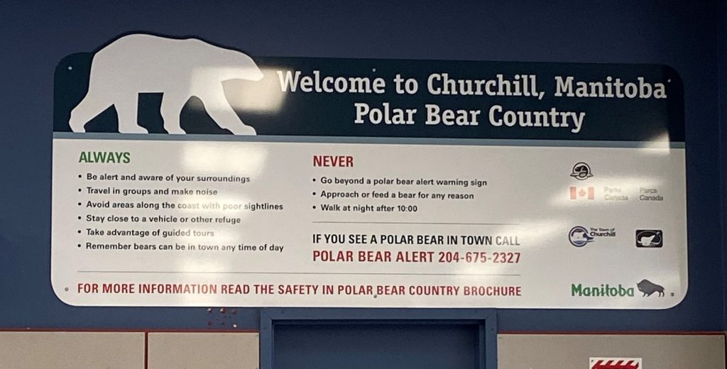 Some key things to know when visiting Churchill.