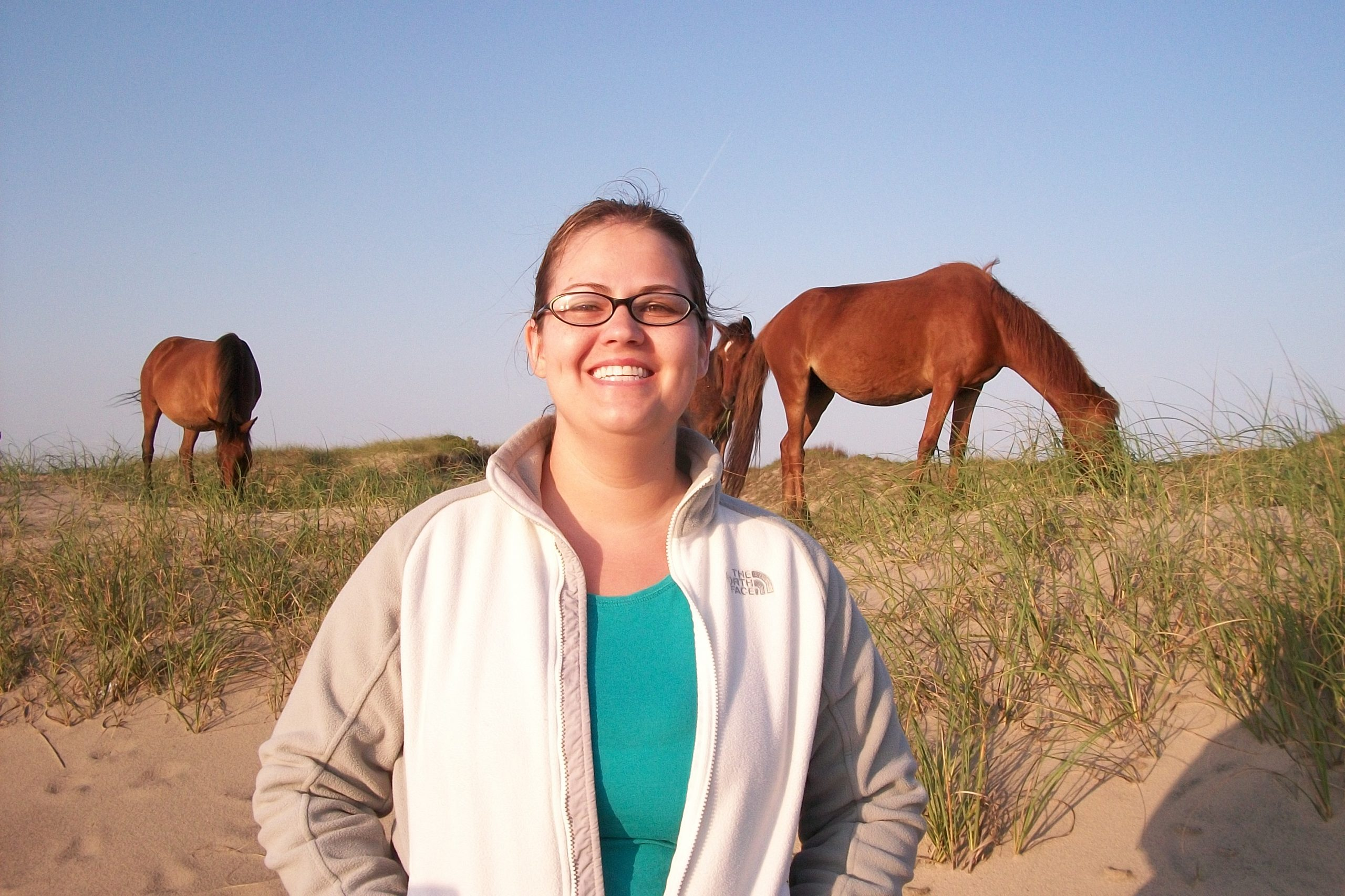 Me and the horses