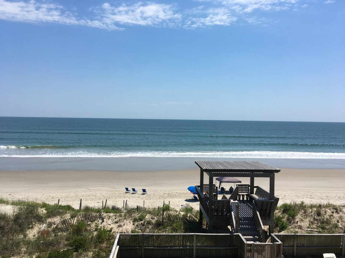 The beach is a top reason to visit Corolla.