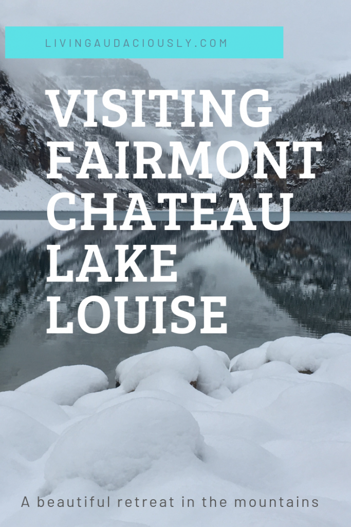 The gorgeous hotel of Fairmont Chateau Lake Louise provides a wonderful retreat in the mountains in Canada. With beautiful views, delicious food, and so much more, you're going to want to make sure to visit!