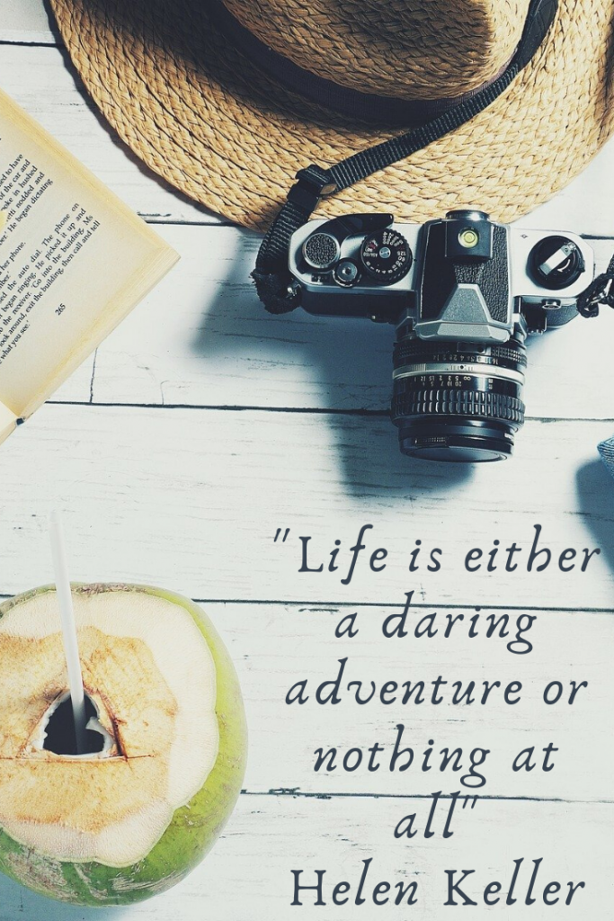 """Life is either a daring adventure or nothing at all."" Helen Keller  These 50 inspirational travel quotes will help fuel your wanderlust and re-ignite that passion for exploring the amazing world we live in!"