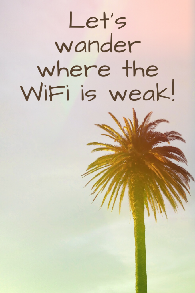 """""""Let's wander where the WiFi is weak!""""  These 50 inspirational travel quotes will help fuel your wanderlust and re-ignite that passion for exploring the amazing world we live in!"""
