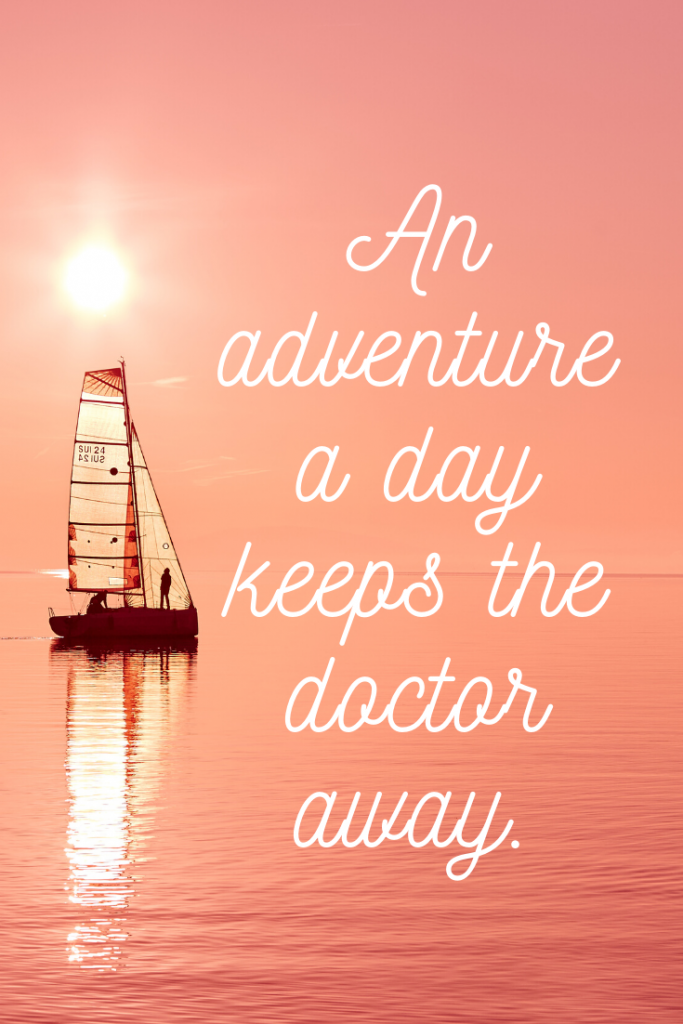 """An adventure a day keeps the doctor away.""  These 50 inspirational travel quotes will help fuel your wanderlust and re-ignite that passion for exploring the amazing world we live in!"