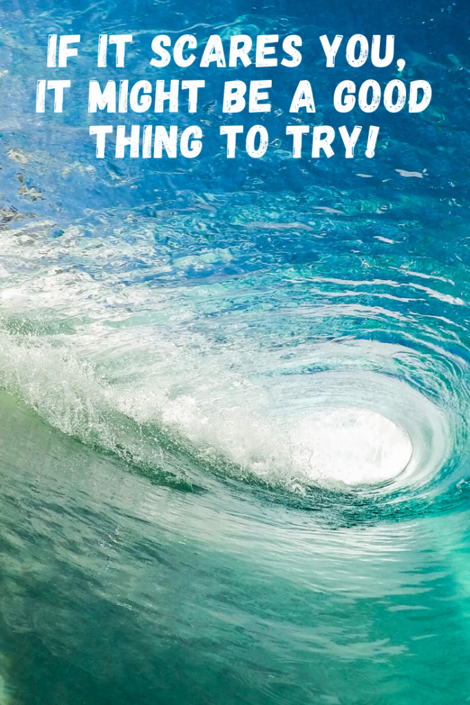 """""""If it scares you, it might be a good thing to try!""""  These 50 inspirational travel quotes will help fuel your wanderlust and re-ignite that passion for exploring the amazing world we live in!"""