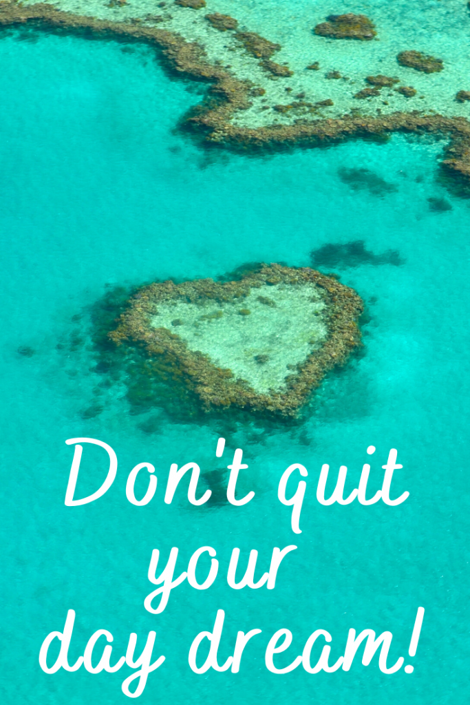 """""""Don't quit your day dream!""""  These 50 inspirational travel quotes will help fuel your wanderlust and re-ignite that passion for exploring the amazing world we live in!"""