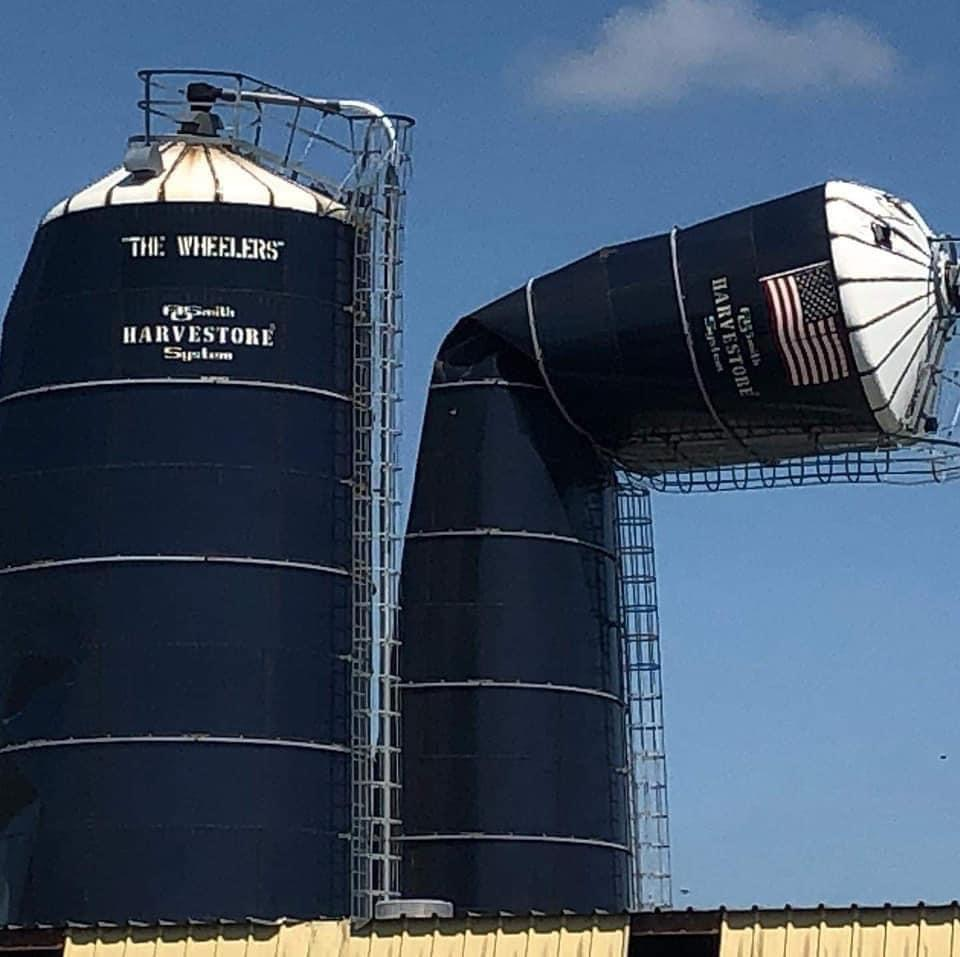 Silos now destroyed.