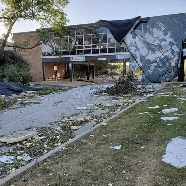 Destruction at area schools push back the start dates.