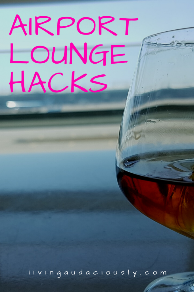 It's not just for the rich and famous! When you're traveling, especially overseas and/or have a long layover, it's great to know these hacks so you can take advantage of the airport lounges! These 5 hacks will make your airport time much more enjoyable. #traveltips #airporttips #airportlounge #viptravel
