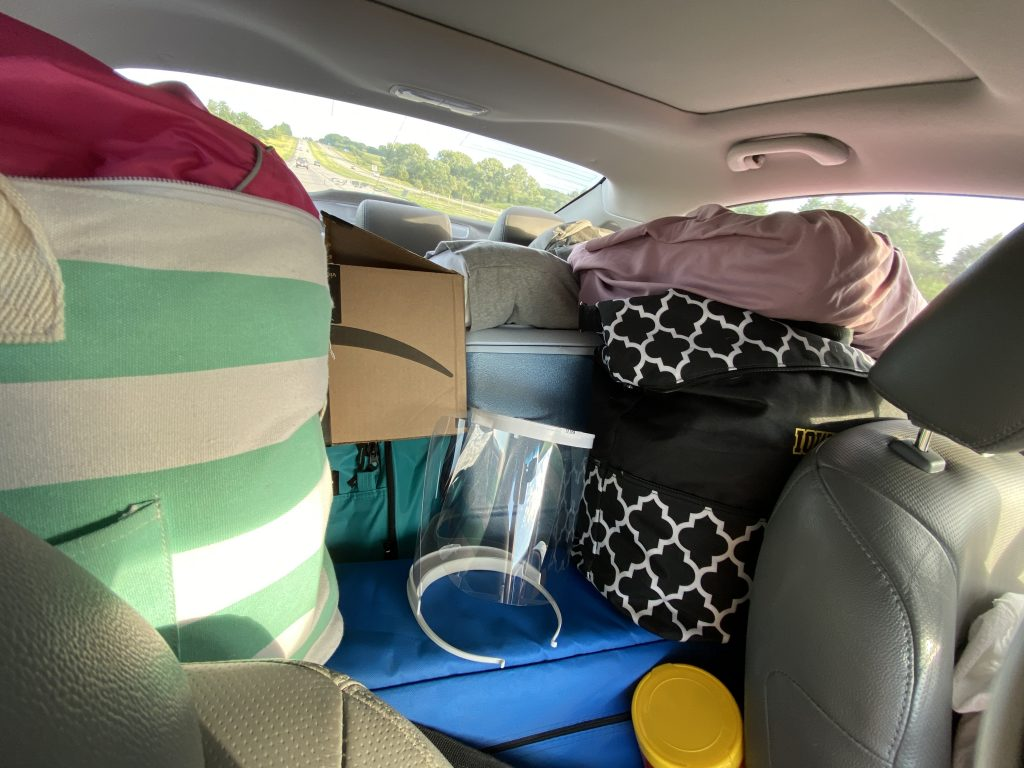 From our camping packing list to a packed car