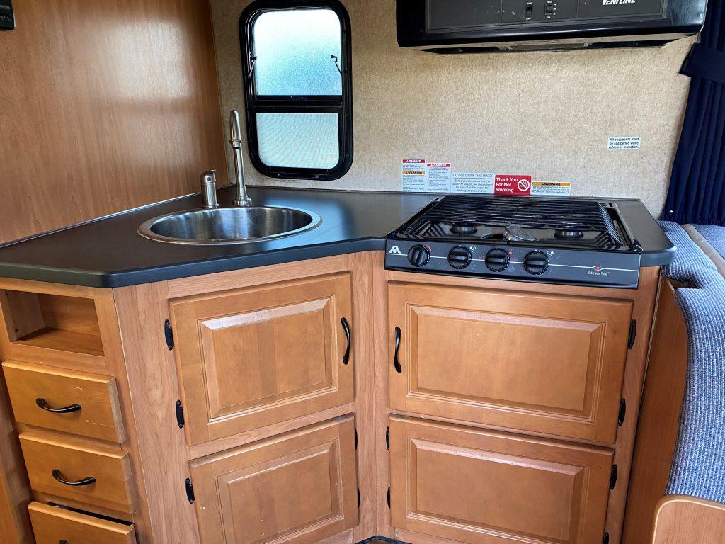 Kitchen Layout in RV