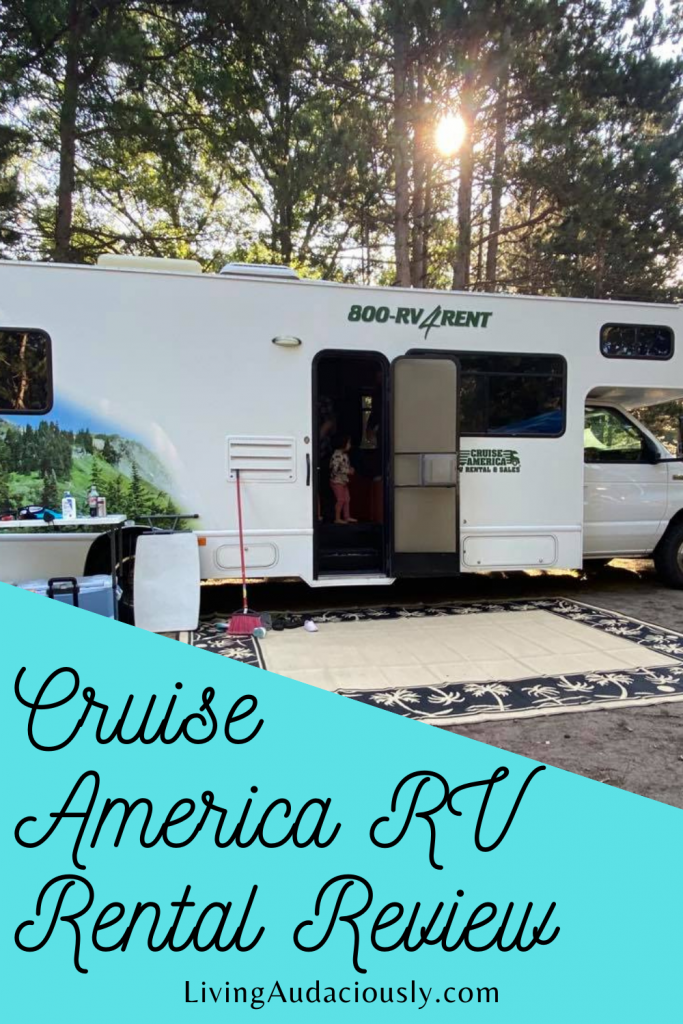 Learn the details about renting a Cruise America RV.