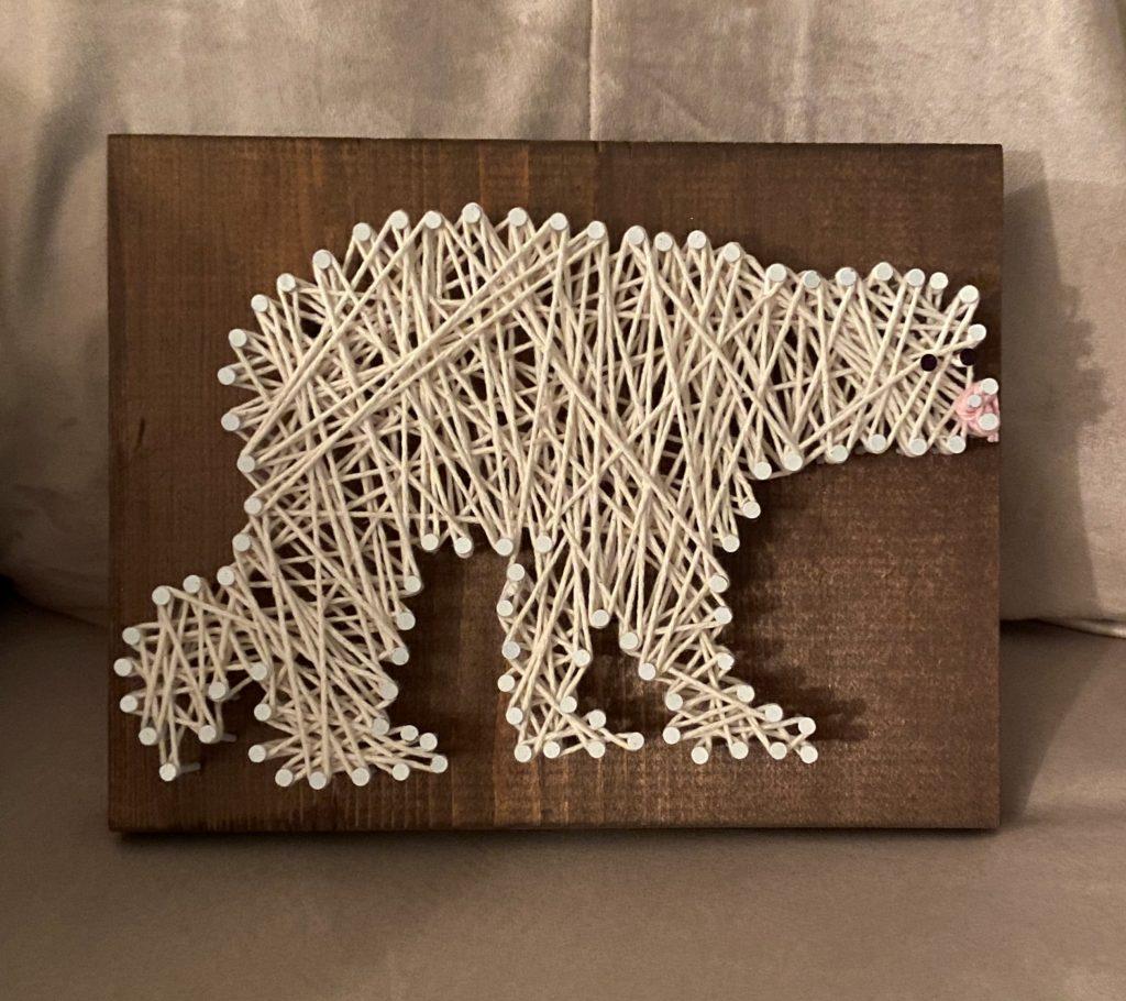 Travel Crafts: String Art