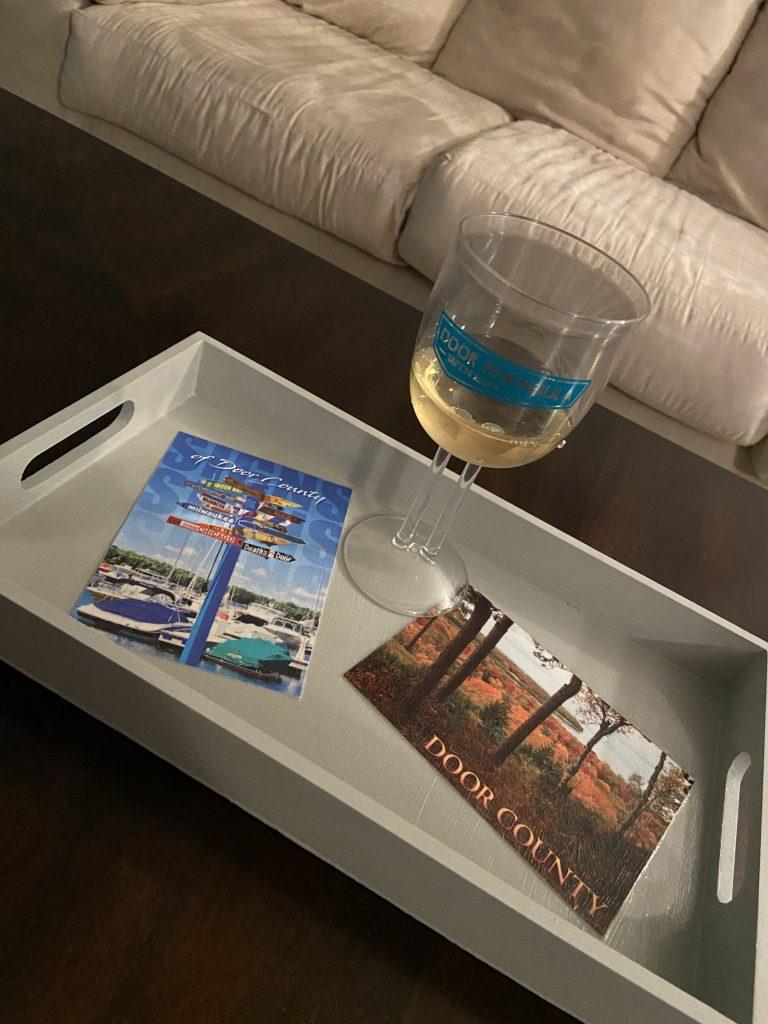 Travel Crafts: Postcard Tray