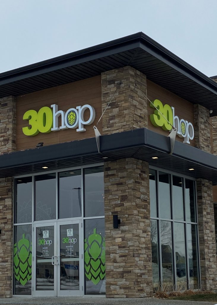 30Hop is a great place for dinner in Cedar Rapids