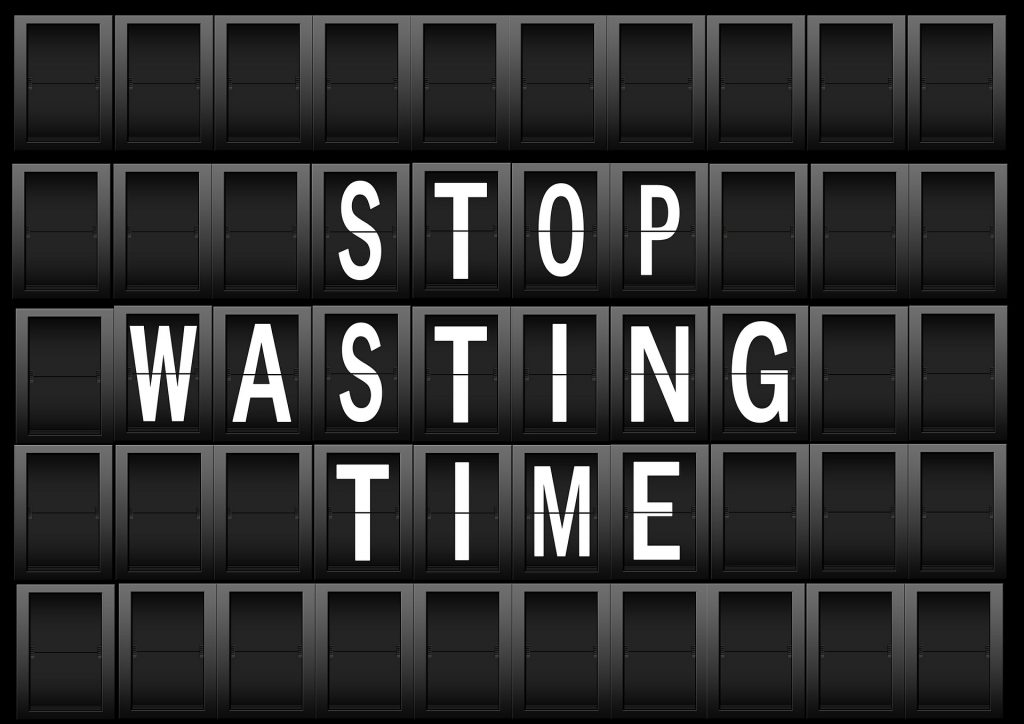 Stop wasting time in lines