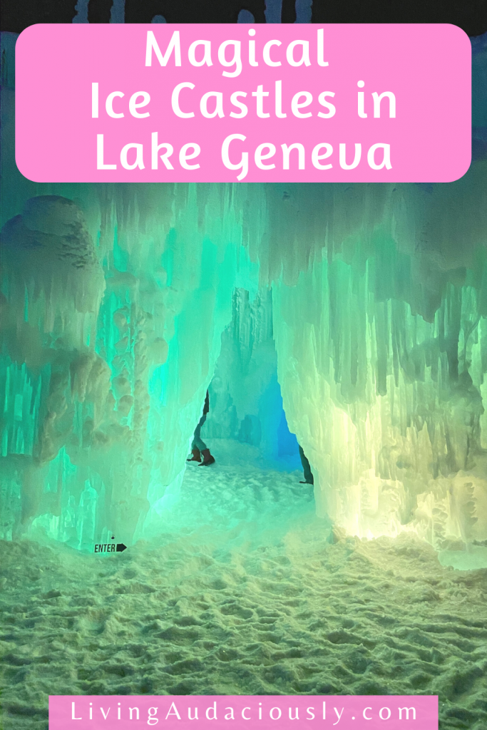 Exploring the Ice Castles in Lake Geneva offers up a magical experience for the whole family! Check out this breathtaking masterpiece!