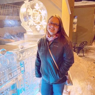 I was so excited to visit the Ice Bar!🧊 I mean, how fun is that?!   As a part of Winterfest in @visitlakegeneva we attended @bakerhouse1885 Fire & Ice bar.  We had to purchase a ticket which included entrance to the bar and one of their specialty drinks. Mom got one and I got the other. Unfortunately, neither of us really liked them (I think I took 3 sips), but it was fun still and I'm glad we got to do it!   I've also always wanted to do a shot from an ice luge, but due to the 'rona, I just didn't feel it was the right time for that. Maybe I should make my own drink ice luge for here at home, it's definitely been cold enough outside.   Have you ever done a shot from an ice luge or been to an ice bar??🧊🍺