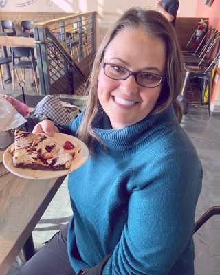 I LOVE Nutella! 💜  So when we found a Nutella Pizza at @oakfirellc in Lake Geneva we had to get it. Plus, it was even World Nutella Day. How perfect was that!?!?   Please tell me you like Nutella too!